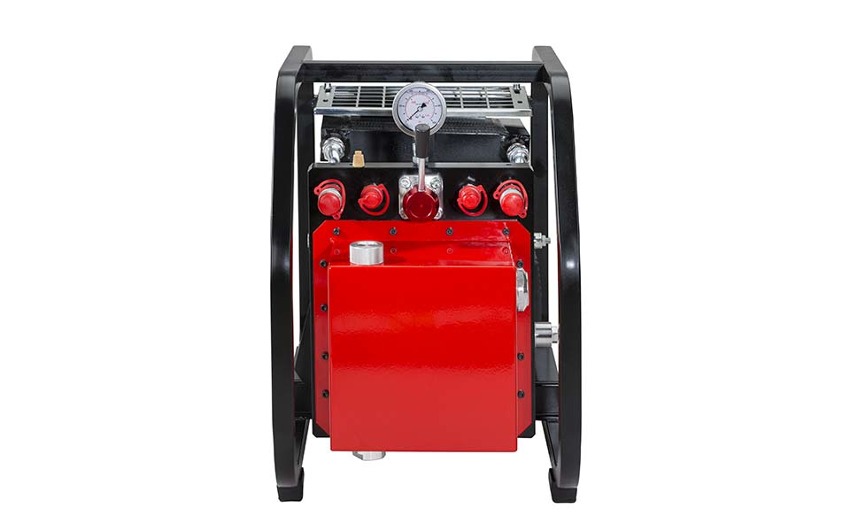 PP600 high pressure hydraulic power unit