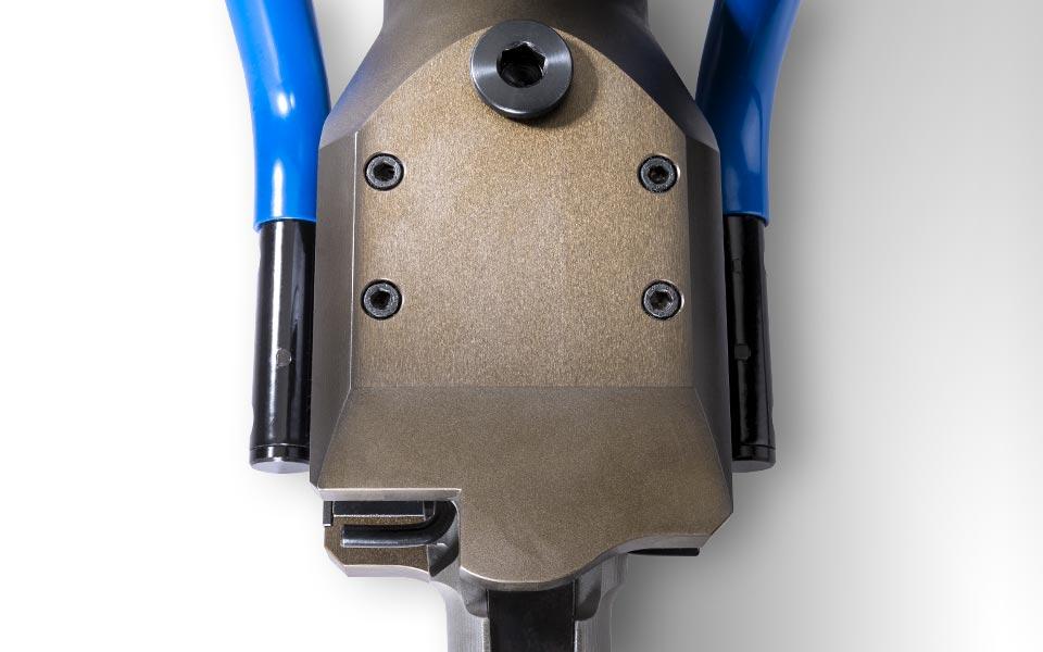 Cuneo spaccaroccia idraulico manuale