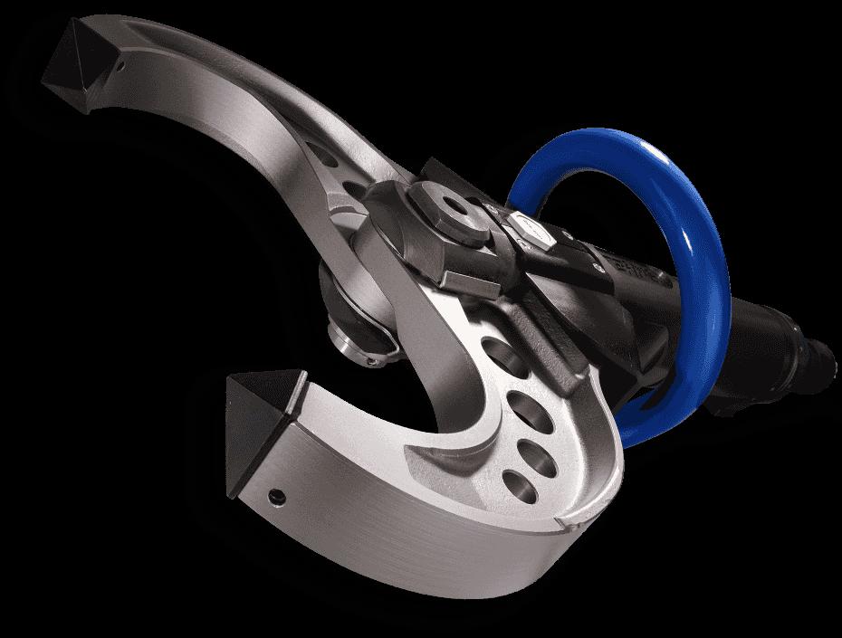 pinza demolitrice idraulica manuale