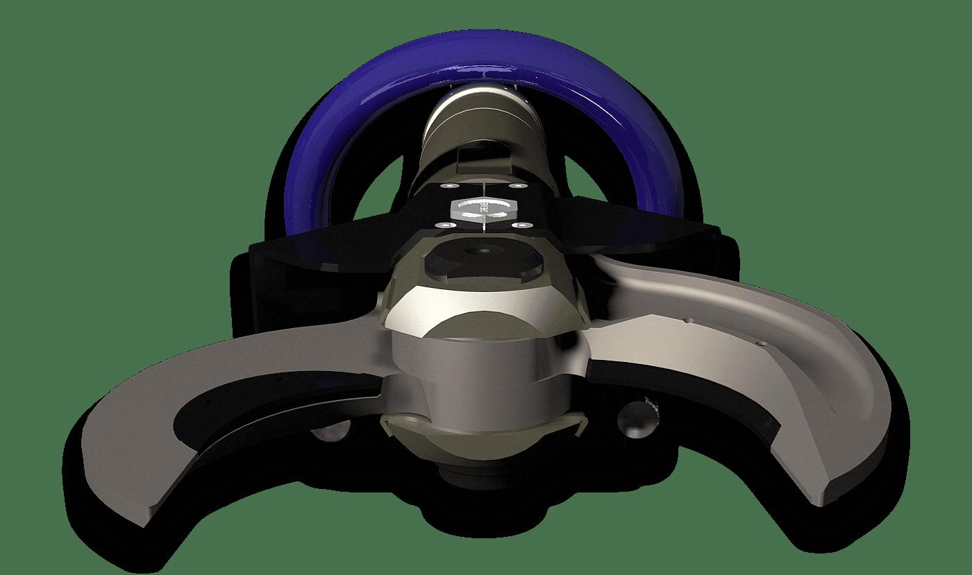 cesoia idraulica manuale per taglio